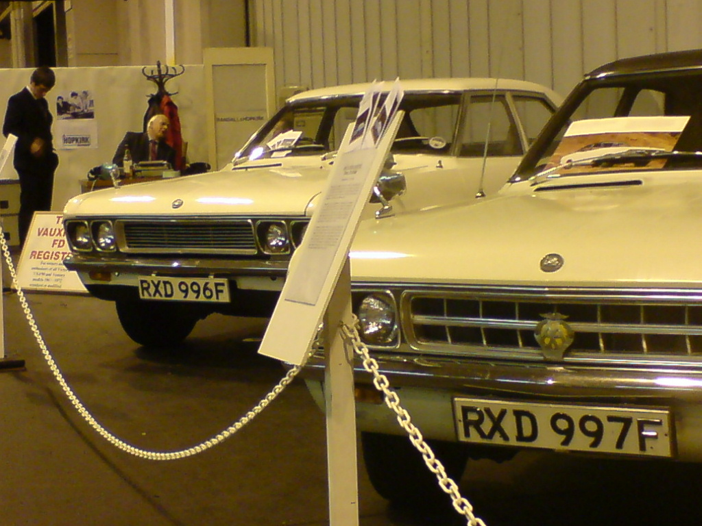 Nec Classic Motor Shows The Vauxhall Fd Register