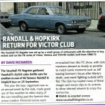 Classic Car Weekly 5th October 2011